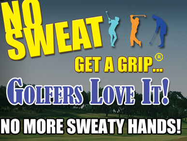 No Sweat Lotion for Golfers